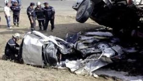 Accidents de la route : 90 morts en 10 jours