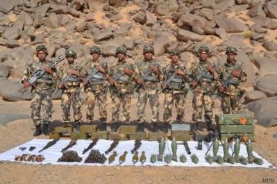 Un arsenal de guerre découvert à Adrar.