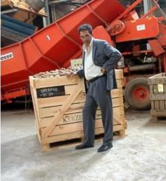 Bachir Seraoui, président du comité interprofessionnel de la  filière pomme de terre, à l'Expression:  «Les prix resteront soutenus cette année»