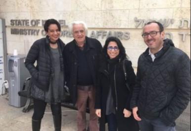 Des journalistes algériens en Israël ?