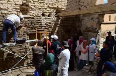 Le collectif «Tourab» œuvre pour la protection du patrimoine bâti.
