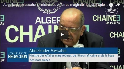 Messahel : La multiplication des initiatives risque de compliquer le règlement de la crise libyenne