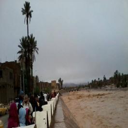 Alerte Météo- Pluies torrentielles sur 5 wilayas du Sud algérien