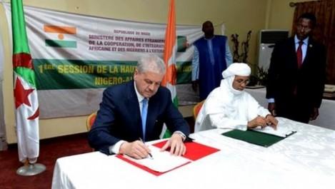 M. Sellal achève sa visite de travail au Niamey : de nouvelles perspectives de coopération entre l'Algérie et le Niger.
