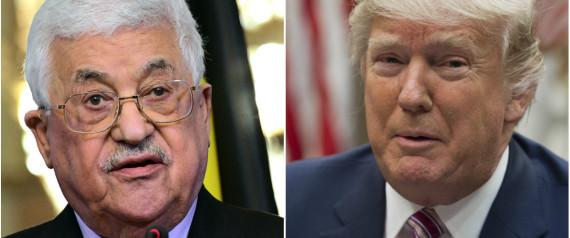 Trump invite le président palestinien «bientôt» à la Maison Blanche.