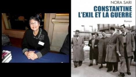 Nora Sari présente son dernier roman «Constantine l'exil et la guerre»