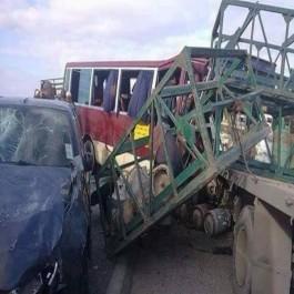 ALERTE- Plusieurs morts et blessés dans un accident impliquant un bus à Tiaret