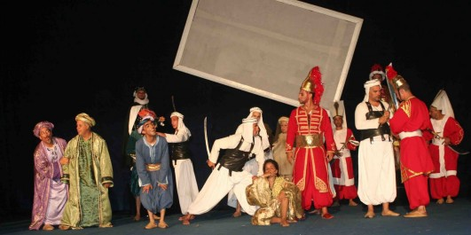 Théâtre:  Samia Saâdi, une artiste dévouée