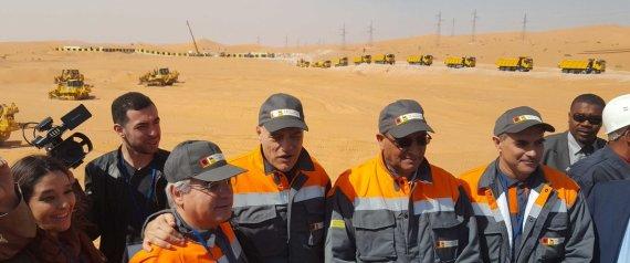 Ouargla: Sonatrach et ENI mettent en route le projet de la centrale photovoltaïque.