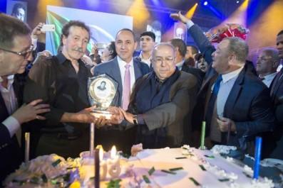 Concert des cinquante années de carrière d'Ait Menguellet:  Hommages et émotion au rendez-vous