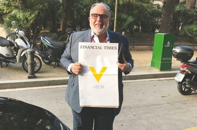 """Vincenzo Nesci, président exécutif de Djezzy, au MWC de Barcelone: """"Le développement des abonnés Data est très important"""""""