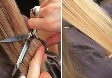 Hair dusting: se débarasser des fourches tout en gardant la longueur