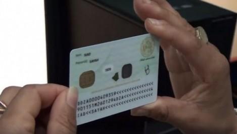Carte professionnelle biométrique: Les deux premières ont été délivrées.