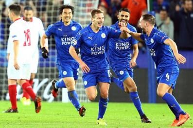 (Terminé) Leicester City 2 – 0 FC Séville (Mahrez et Slimani)