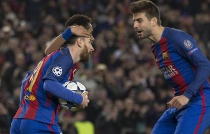 Barça – Piqué :»Messi est le meilleur joueur de l'histoire»