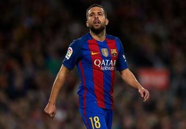 Jordi Alba :»Au FC Barcelone, je n'ai pas la confiance totale que j'ai en Espagne»