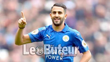 Leicester City fixe le prix de Mahrez à  46 M€