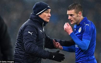 Leicester : Vardy et sa famille menacés de mort après le limogeage de Ranieri