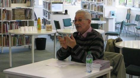 Youcef Tounsi, auteur de Les cendres noires  Le quartier, cette part ancrée dans notre mémoire