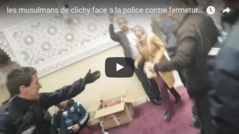 France: la mosquée du centre-ville de Clichy évacuée (vidéo)