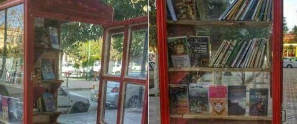 A Batna, une «cabine à livres» ouvre ses étagères