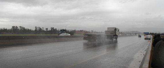 Alger: 29 accidents de la route en 24 heures à cause de la pluie.