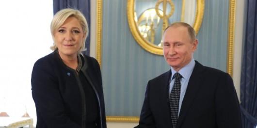 Vladimire Poutine reçoit Marine Le Pen … Et ce n'est pas la première fois
