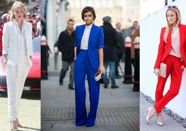 Dernière tendance mode: Le tailleur pantalon
