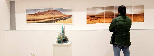 Le traumatisme des essaies nucléaire français, thème de la nouvelle exposition de Ammar Bouras.