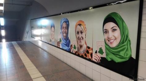 Ces visages que vous voyez partout et qui vous incitent à aller voter? Ils ne sont pas Algériens.