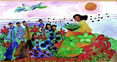 Djahida Houadef expose à l'institut Cervantès: Une œuvre pétillante