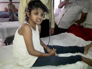 Inde : une fillette sauvage découverte dans la forêt