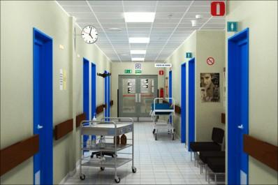 À l'est: Tous les hôpitaux ont fonctionné