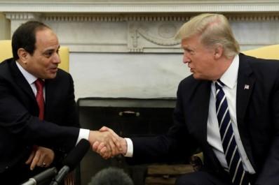 Trump loue le «travail fantastique» de Sissi en Égypte