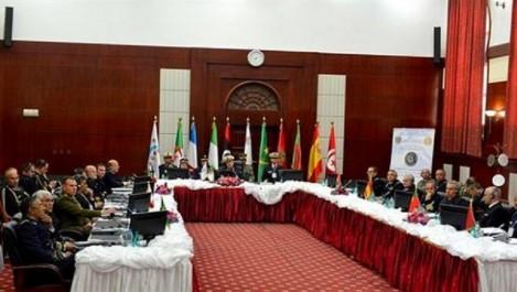 Réunion à Alger des chefs d'Etat-Major des marines de l'initiative:  « 5+5 défense »