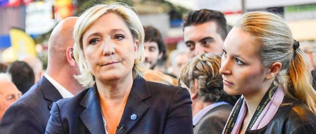 Maréchal-Le Pen attaque Macron sur l'Algérie