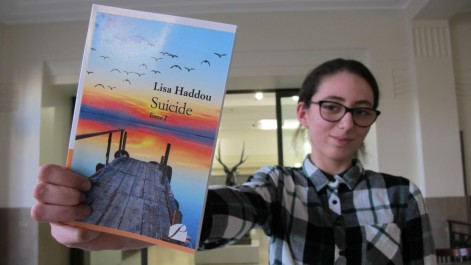 Romancière à 14 ans  Lisa Haddou au «Panthéon»