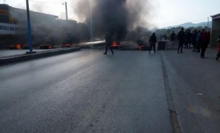 La RN 12 fermée par des citoyens en colère à Béjaïa