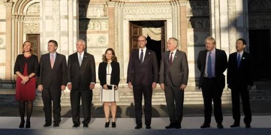 Réunion de Toscane sur la Syrie: La Turquie et la coalition arabe incluses au côté du G7