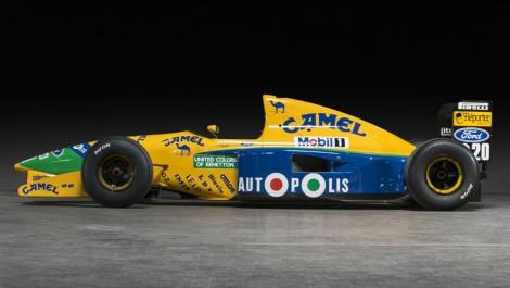 Une des premières F1 de Schumacher est à vendre