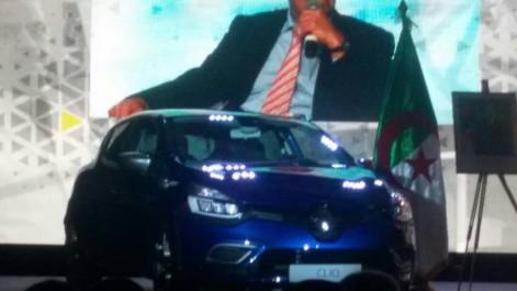 Photos: la Renault Clio made in Algeria exposée aujourd'hui à Oran