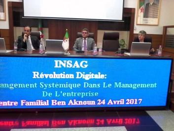 INSAG Alger – Les entrepreneurs avertis: la révolution digitale est «incontournable», elle n'attendra personne
