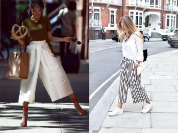 Tendance: La jupe culotte est de retour