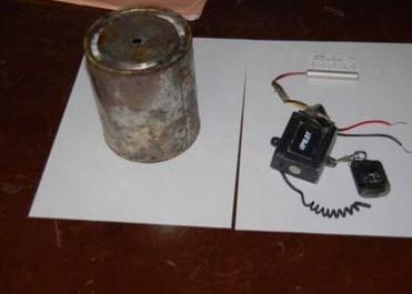 L'Armée national decouvre des produits pour fabrication de bombes artisanales