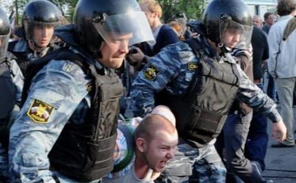 Russie : une centaine de personnes arrêtés lors d'une manifestation anti-poutine