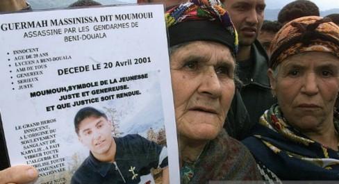 20 Avril 2001, Mohamed Guermah, dit Massinissa, rend l'âme suite à ses blessures