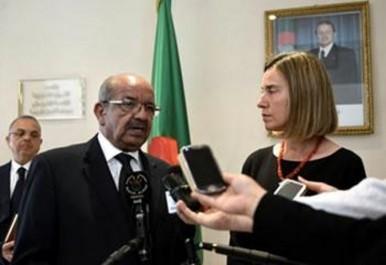 Messahel et mogherini discutent les dossiers  syrien et Libyen: L'Algérie et l'UE sur la même longueur d'onde
