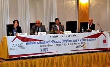 Efficacité énergétique dans le bâtiment:  L'Algérie sollicite l'expertise française
