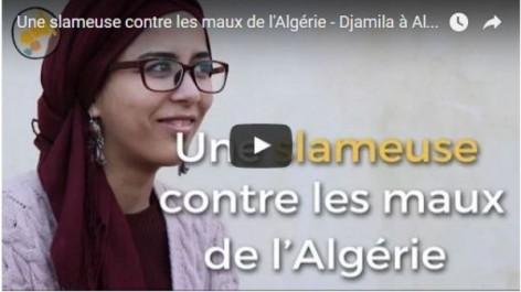 Vidéo: rencontre avec Zoulikha, alias Toute Fine, la slammeuse qui veut lutter contre les maux de l'Algérie