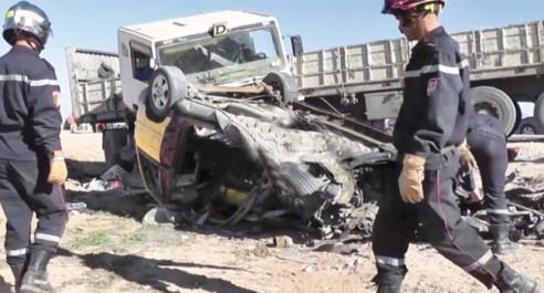 Accidents routiers: 9 morts et 31 blessés en une journée